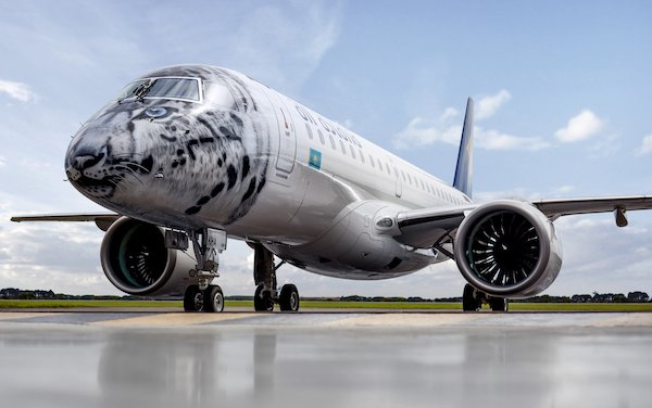 Embraer Signs Pool Program Contract to Support Air Astana new E-Jets E2 fleet