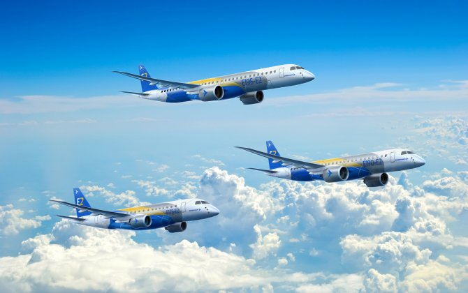Embraer's E195-E2, KC-390 and Legacy 450 debut at the Paris Air Show 2017