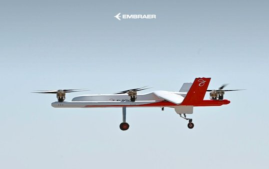EmbraerX and Elroy Air to Collaborate on Unmanned Air Cargo