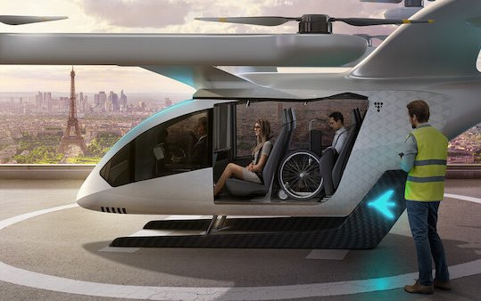 New Flying Vehicle Concept for Future Urban Air Mobility by EmbraerX