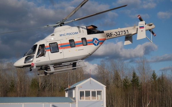 EMERCOM took delivery of first Ansat helicopter