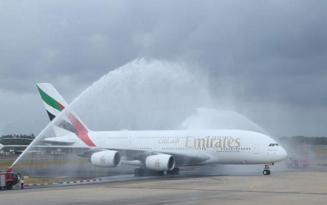 Emirates A380 Colombo flight marks a milestone