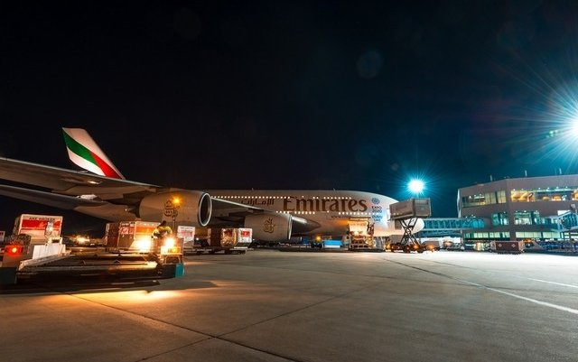 Emirates A380 starts flights to China and Russia with love