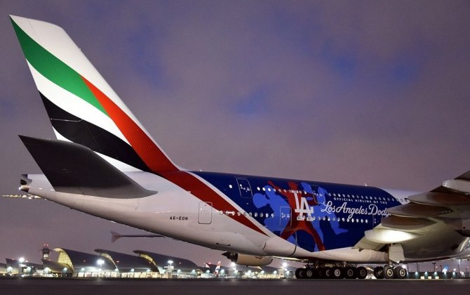 Emirates celebrates A380 touchdowns in Los Angeles and Vienna