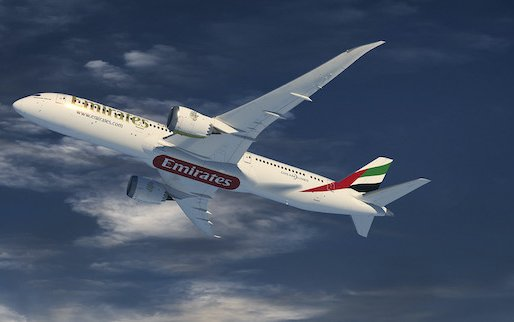 Emirates Orders 30 Boeing 787 Dreamliners