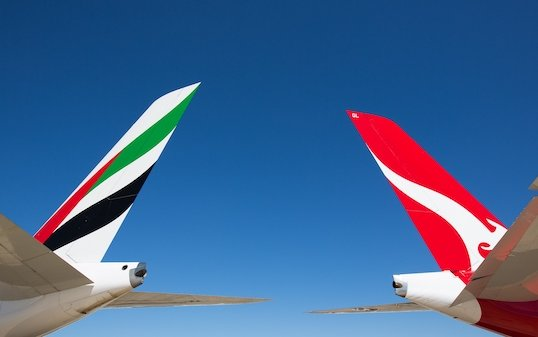 Emirates & Qantas extended partnership to help boost recovery of International travel
