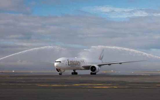 Emirates touches down in Auckland via Bali