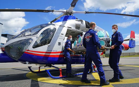 EpiShuttle isolation pod helps save lives and protects air ambulance staff