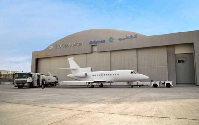 Esavian doors for second DC Aviation hangar in Dubai