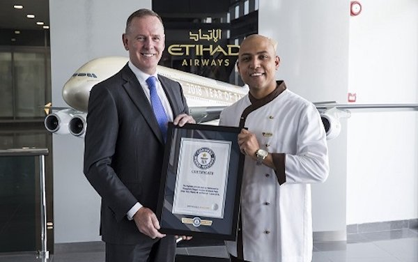 ETIHAD AIRWAYS CHEF BRINGS FINE DINING TO MOUNT EVEREST, BREAKING GUINNESS WORLD RECORD