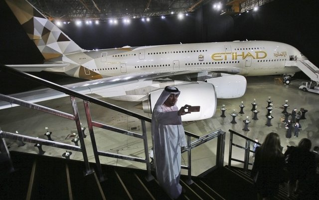 Etihad Airways' fuel saving slashes greenhouse gas emissions