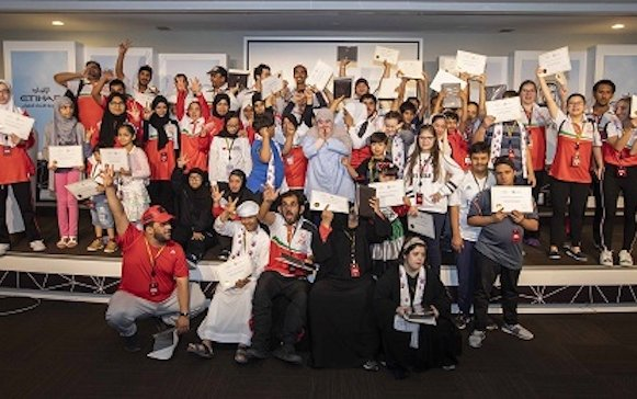 Etihad Airways invites Special Olympics UAE athletes to its Young Aviators programme