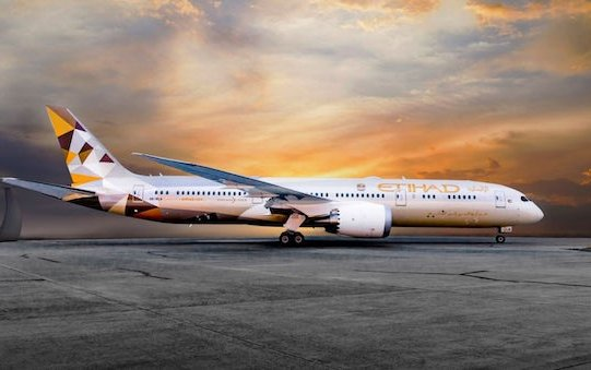 Etihad and Boeing strengthen strategic partnership with maintenance support for Boeing 787 fleet