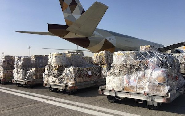 Etihad expands passenger freighter coverage as it continues to deliver essential supplies to UAE and the world