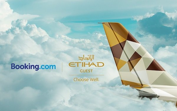 Etihad Guest and Booking.com form rewards partnership