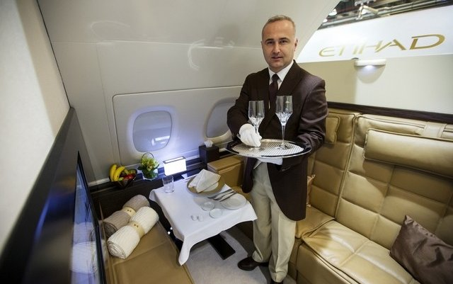 Etihad's Savoy-trained butlers strive for consistency