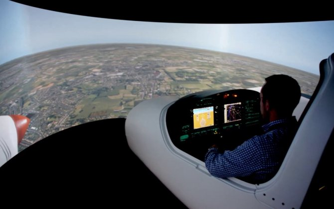 Euramec confirms worlds' first Diamond DA40/42 flight simulator combi solution at Farnborough