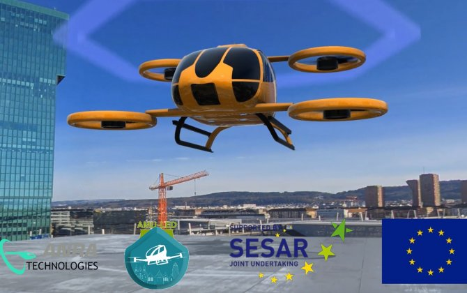 Europe tests the future of urban air mobility -ANRA Technologies joined AMU-LED project