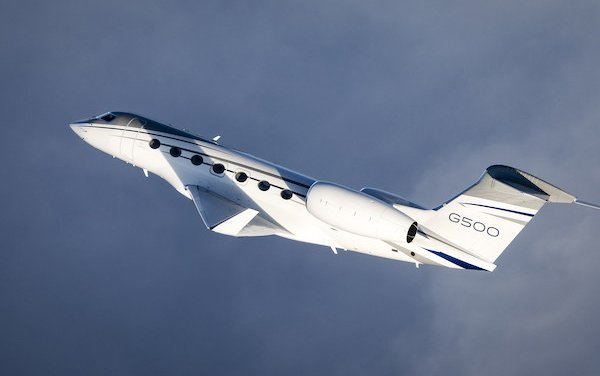 European certification granted to Gulfstream G500TM