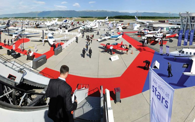 Europe's biggest business aviation event to continue at Geneva's Palexpo through 2021