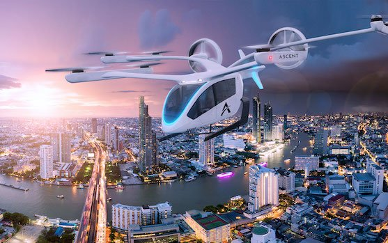 Eve Urban Air Mobility partners with Ascent