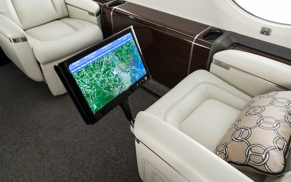Exceeded in-flight connectivity - Inmarsat Jet ConneX available on large-cabin Gulfstream