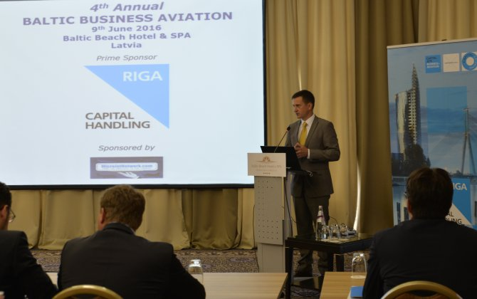 Exclusive - Armands Krauze on business aviation role