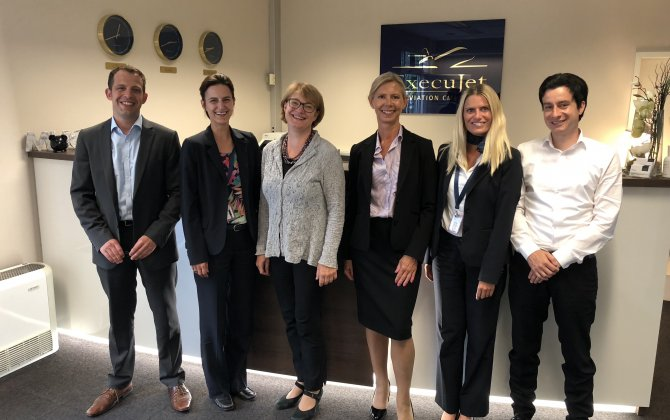 ExecuJet enters double figures for IS-BAH accredited FBOs