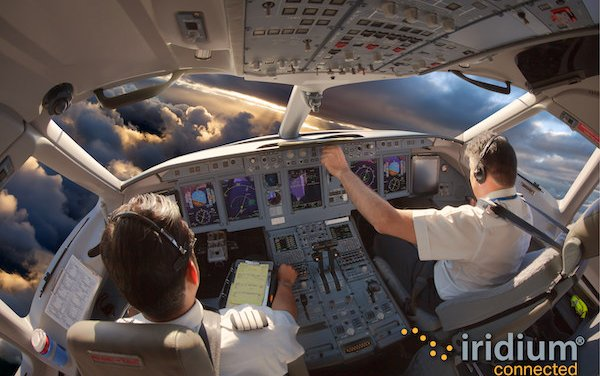 Expanded Aircraft Connectivity Services by Iridium and Thales