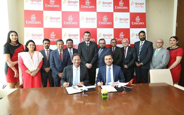 Expanded Emirates reach in India with SpiceJet codeshare partnership
