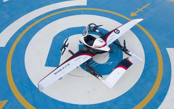 Expanding regional air mobility coverage - long-range EHang VT-30 AAV revealed