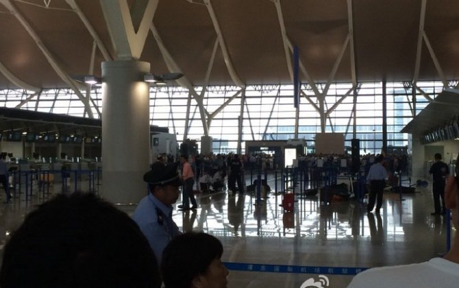 Explosion rocks Shanghai's Pudong airport