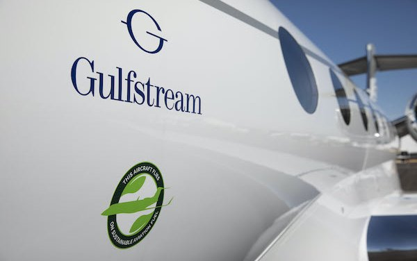 Extended contract for low-carbon sustainable aviation fuel - Gulfstream