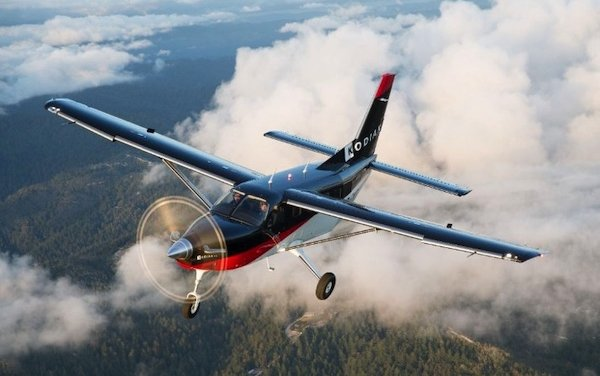 Extension of Kodiak aircraft sales network for Asia