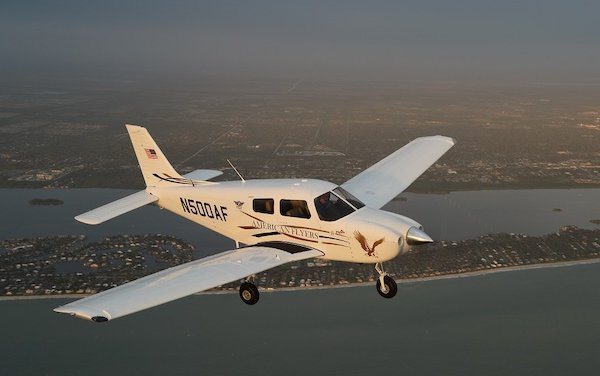 FAA Certified Piper 100i on display for the first time at Sun-n-Fun