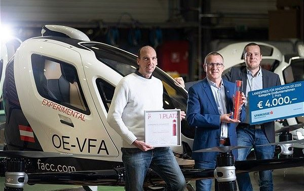 FACC receives Gold Innovation Award of the State of Upper Austria