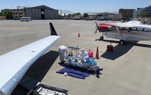FAI Air Ambulance corona transport meets massive demand