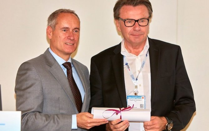 FAI collects Diamond Award for Safety from EBAA