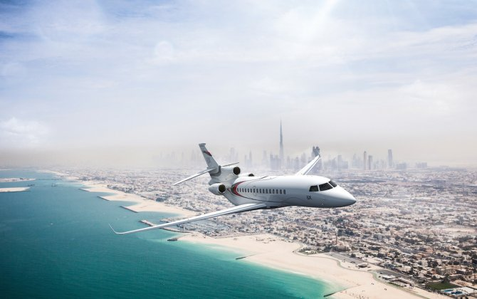 FALCON 8X MAKES MIDDLE EAST DEBUT AT MEBAA 2016 AIR SHOW IN DUBAI