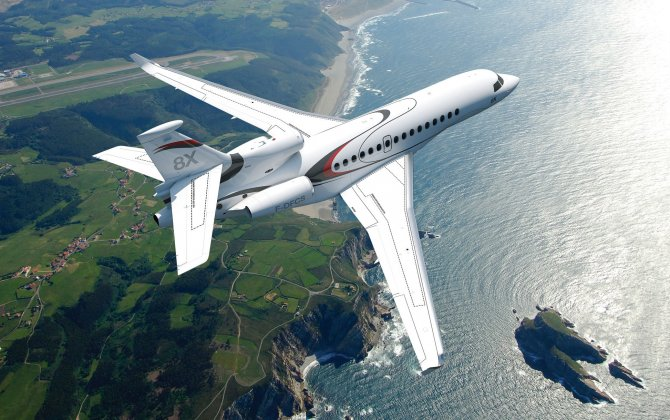 Falcon 8X Receives FAA Approval