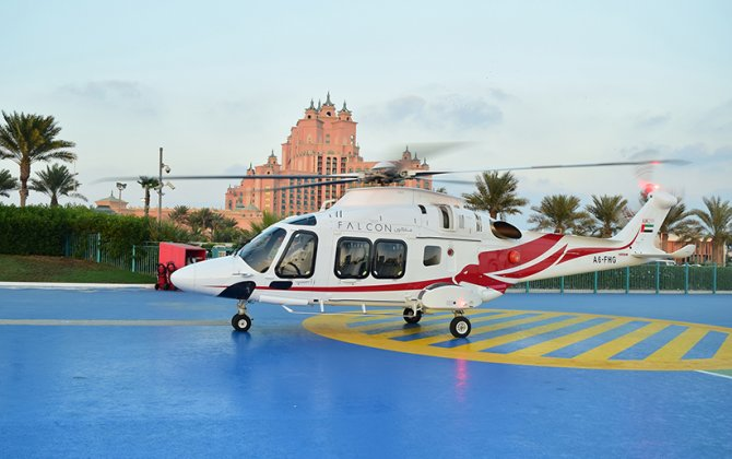 Falcon Aviation launches three month charter enticement at Dubai Airshow