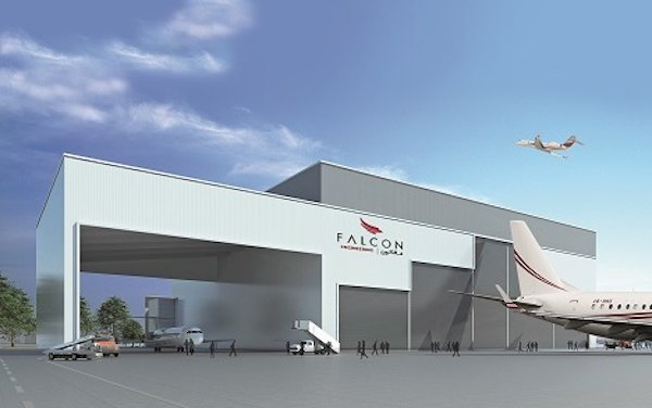 Falcon Aviation plans opening for new Dubai DWC Base Maintenance Hangar facility