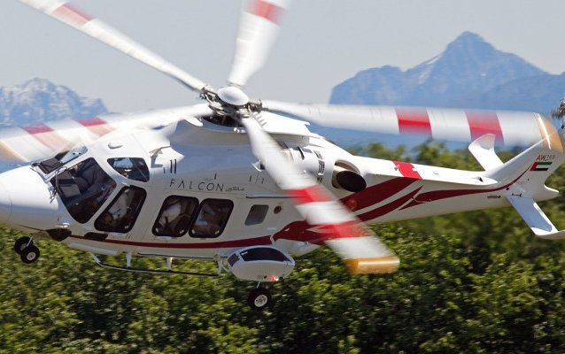 Falcon's AW169 in global offshore debut