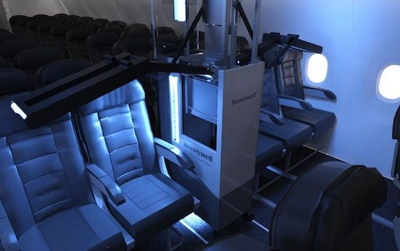 Fast, affordable ultraviolet cleaning system for airplane cabins - Honeywell