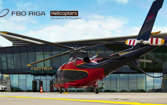 FBO RIGA expands services portfolio with helicopters, catering, concierge and transfers