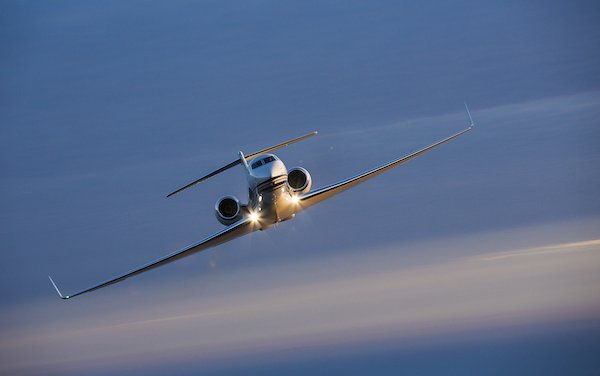 Final G550 commercial delivery was made