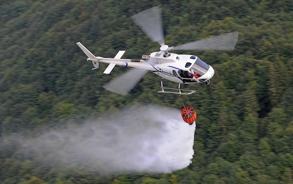 Fire fighting training at European Rotors