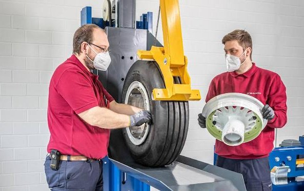 First 3 months of successful operation of new DC Aviation Wheel Shop