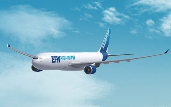 First A330-200P2F re-delivery to Egyptair Cargo