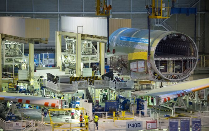 First A330neo starts its final assembly in Toulouse